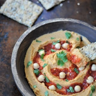 Spicy Peanut Chili Hummus