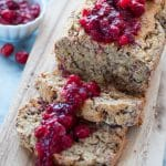 Vegan Cranberry Orange Quick Bread