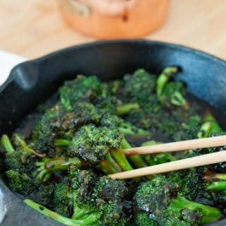Homemade Teriyaki Broccoli