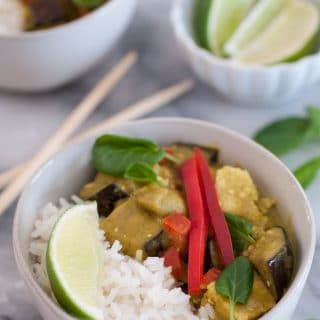 Lightened Up Green Vegetable Curry