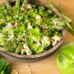 Green Spring Vegetable Bowl & Creamy Chimichurri