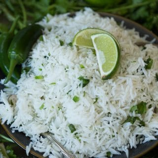 Cilantro Lime Rice Just Like Chipotle's