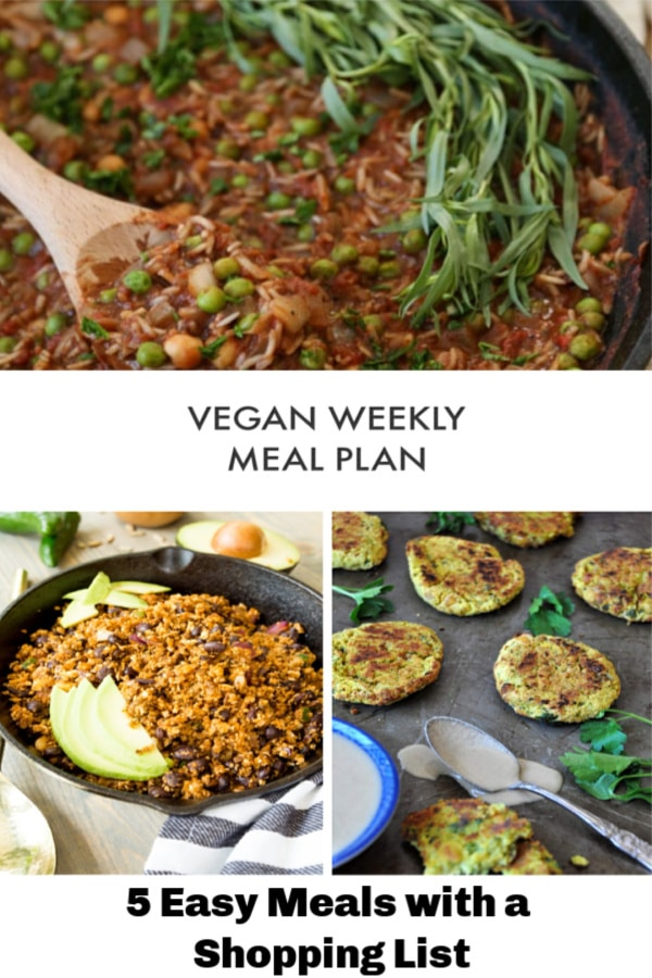 Make your week nights easy and healthy with our Weekly Meal Plan! It includes prep ideas and a shopping list!