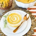 Hannah's Sweet Potato & Pumpkin Bisque - Dairy Free and Gluten Free