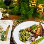 An Italian Themed Vegan Christmas Menu & How to Set a Beautiful Holiday Table