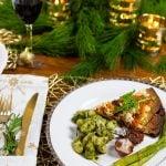 An Italian Themed Vegan Christmas Menu & How to Set a Beautiful Holiday Table