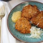 Spiced German Potato Pancakes - A New Christmas Tradition
