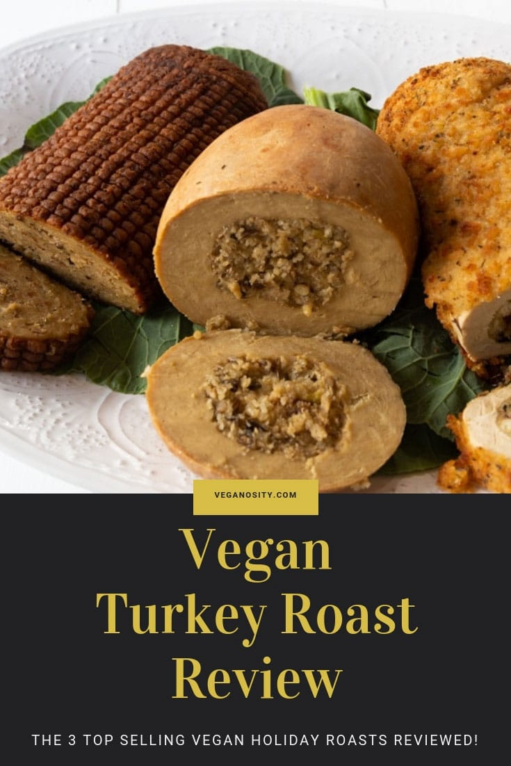 We reviewed the top 3 selling vegan holiday roasts! Go to the blog and find out how they rated. #vegan #turkeyroast #holidayfood