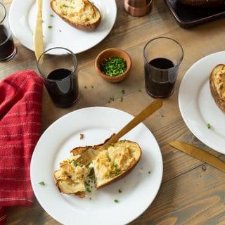 Twice Baked Ranch Potatoes – Gluten Free, Vegan, Dairy Free
