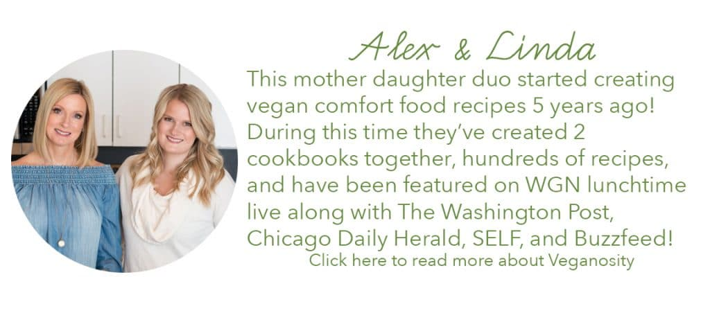all about Alex & Linda the cofounders of Veganosity