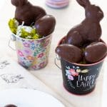 Easy Vegan Easter Eggs-Reese's & Almond Joy Copycat