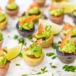 Mini Vegan Potato Cup Tacos