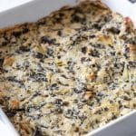 Easy Vegan Hot Spinach Artichoke Dip