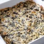 Easy Vegan Hot Spinach Artichoke Dip