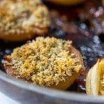 Baked Onions with Fennel Breadcrumbs