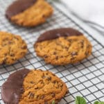 Vegan Mint Chocolate Chip Cookie Recipe